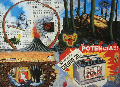 David Wojnarowicz, 'David Wojnarowicz's The Four Elements (announcement card)', 1987