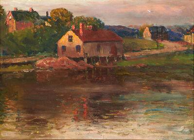 Joseph Eliot Enneking, 'Afternoon Sun Mill Pond, Brookline, Massachusetts', 1904