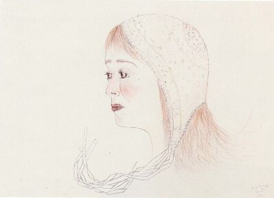 Kiki Smith, 'Red Cap', 2001