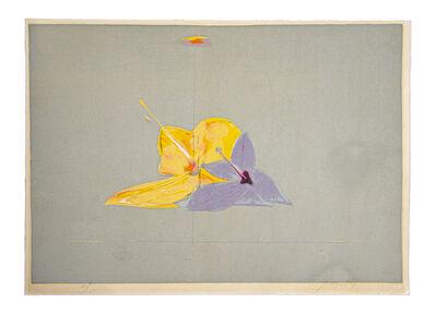 Piero Guccione, 'The Flowers ', Late 20th century
