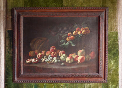 Pseudo Fardella, 'Still-life with melons, peaches, figs and almonds', Mid 17th century-ca. 1660