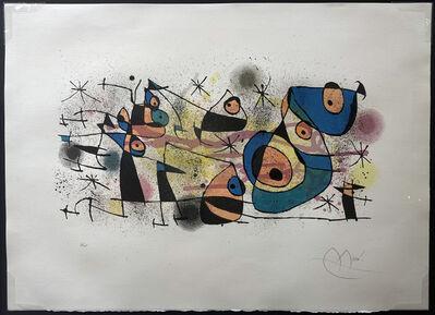 Joan Miró, 'Céramique (La fête, grand composition)', 1974