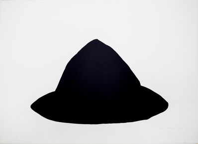 Joel Shapiro, 'Untitled (Blue Black)', 1980