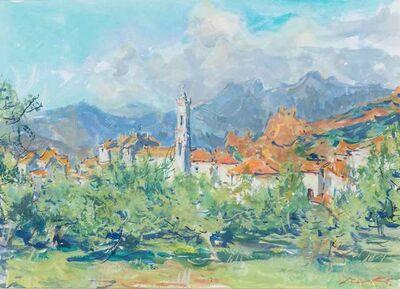 Sergei Chepik, 'Village Corse', 2002