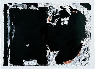 Robert Motherwell, 'Lament for Lorca', 1982