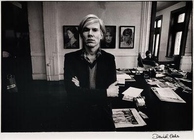 David Gahr, 'ANDY WARHOL, CICRA 1980', ca. 1980