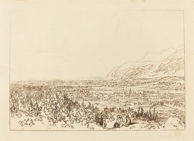 J. M. W. Turner, 'Chain of Alps from Grenoble to Chamberi', published 1812