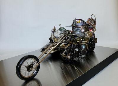 Iwaisako Yoshiro, 'KEN-EN: Harley-Davidson with Sidecar', 2021