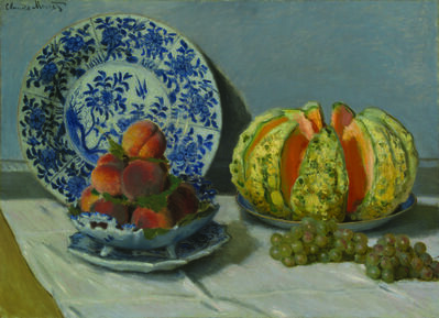 Claude Monet, 'Still Life with Melon', 1872
