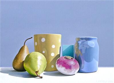 Jeff Uffelman, '2 Pears and a Turnip', 2018