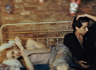 Nan Goldin, 'Greer and Robert on the Bed, New York', 1982