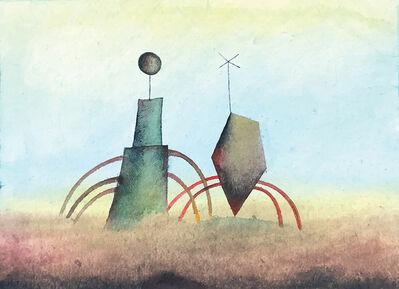 Jiri Tibor Novak, 'Monuments 2 (framed)', 2018