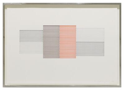 Michael Craig-Martin, 'Untitled (Coloured Venetian Blind Study 9)', 1988