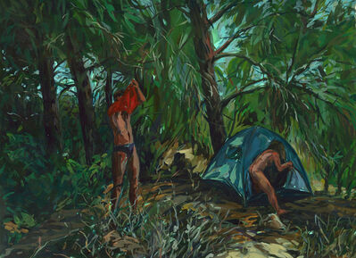 Eyal Sasson, 'A couple in a tent', 2012