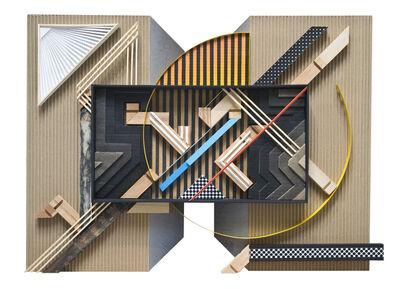 Gilbert1, 'Assemblage sur carton #03', 2018