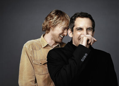 Michael Grecco, 'Actors Owen Wilson & Ben Stiller, Beverly Hills, California', 2004