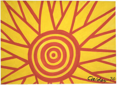 Alexander Calder, 'Eclat', 1974