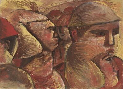 José Gurvich, 'Caras', ca. 1966