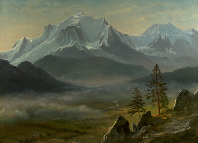 Albert Bierstadt, 'Mont Blanc', Date Unknown