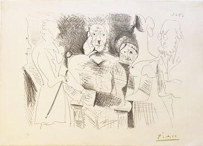 Pablo Picasso, 'Portrait de Famille III, Six Personnages', 1962