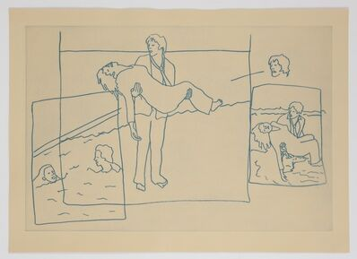 Ida Applebroog, 'Vellum Sketches II', 2011