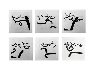 Bernar Venet, 'Combinaison Aléatoire de Lignes Indéterminées', 1996