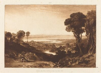 J. M. W. Turner, 'Junction of Severn and Wye', published 1811