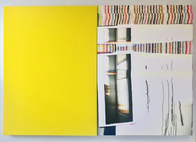 Liz Trosper, 'let me open a window: yellow', 2019