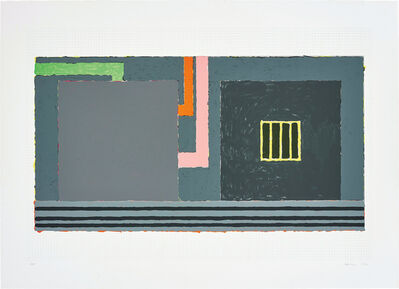 Peter Halley, 'Nowhere', 1992