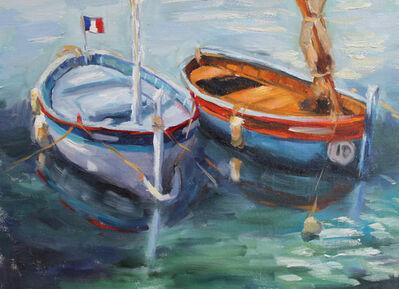 Vanessa Rothe, 'Deux Bateaux Français', 2015