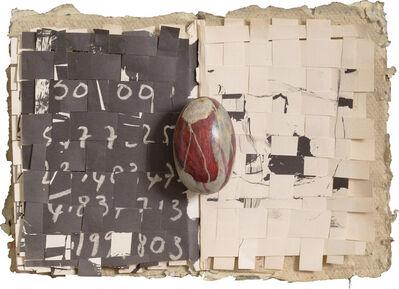 Mirella Bentivoglio, 'Libro tessile', 1985