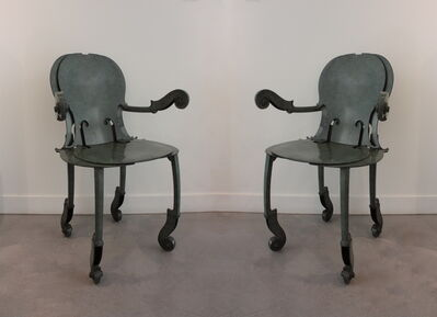 Arman, 'Pair of Cello Armchairs', 1993
