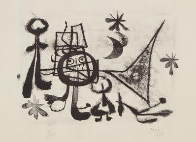 Joan Miró, 'Album 13: plate VIII', 1948