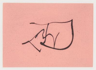 Robert Motherwell, 'Music', 1988