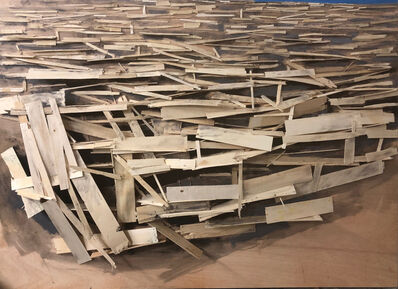 Tadashi Kawamata, 'Destruction No.27', 2019