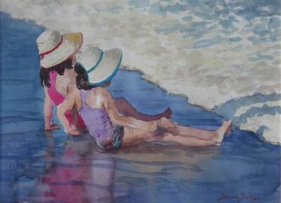 Donna Dickson, 'Sisters at the Playa'