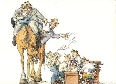 Max Schweber, 'High Horse', 1985