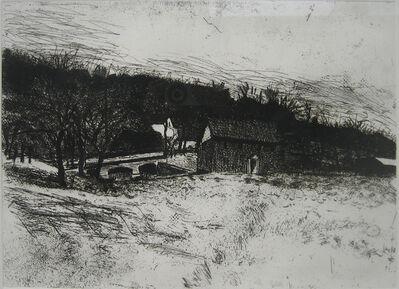 Wolf Kahn, 'Bridge Off Highway #5', 1979