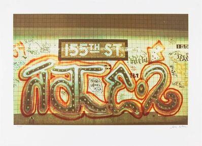 Jon Naar, 'FAITH OF GRAFFITI 4, 155th St, Subway Station NYC 1970s', 1970-1979
