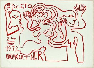 Fritz Baumgartner, 'Spoleto', 1972