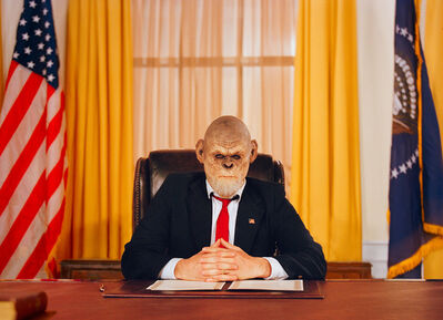 Tyler Shields, 'Commander and Chief', 2020