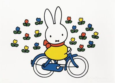 Dick Bruna, 'Miffy on Bike'