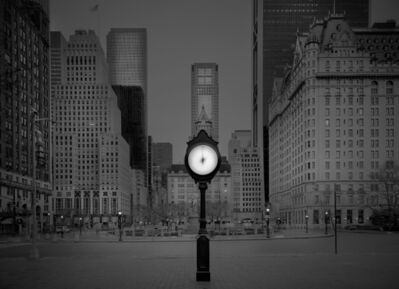 Michael Massaia, 'Clock Installation - Deep In A Dream - Central Park', 2016