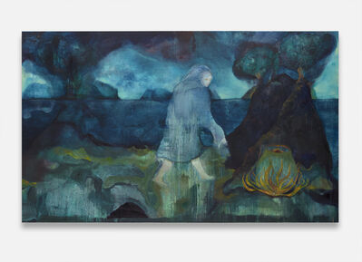 Cathrine Raben Davidsen, 'Silvery Water and Starry Earth', 2020