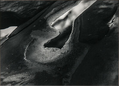 Minor White, 'Rock and Water Abstraction', c. 1950s-60s