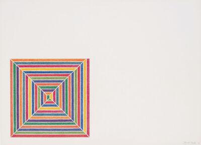 Frank Stella, 'Line Up', 1973