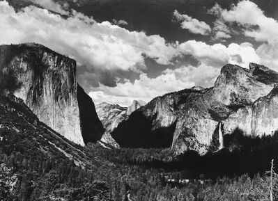 Ansel Adams, 'Yosemite Valley', 1935