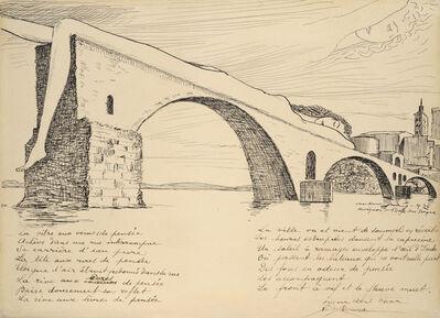 Man Ray, 'Le Pont brisé (Pont d'Avignon)', 1936