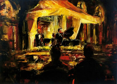 Stephen Shortridge, 'PRIVATE CONCERT ON THE SQUARE', UNKNOWN