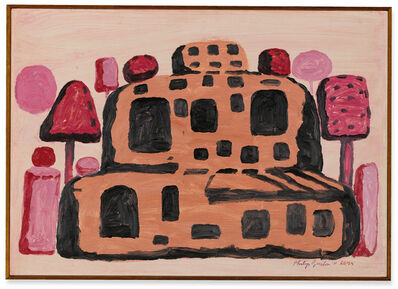 Philip Guston, 'Ancient Rock, Ostia', 1971